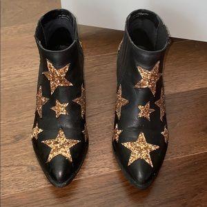 Glitter Star Booties